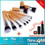 Giá Bán Cọ Trang Điểm Can Gỗ Cao Cấp 11 Cay Vang Nhạt Son Sivanna Colors 01 Matte Lipstick Dạng Thỏi Nhãn Hiệu Sivanna