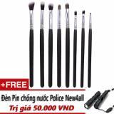 Mua Cọ Vẽ Mắt 8 Cay Cv08 Professional Brush Makeup Sets Tặng Đen Pin New4All Rẻ Hồ Chí Minh