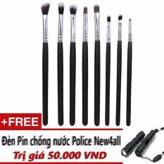 Bán Cọ Vẽ Mắt 8 Cay Cv08 Professional Brush Makeup Sets Tặng Đen Pin New4All Rẻ Hồ Chí Minh