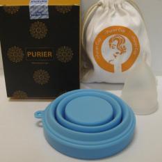 Cốc nguyệt san PURIER + túi đựng + cốc tiệt trùng