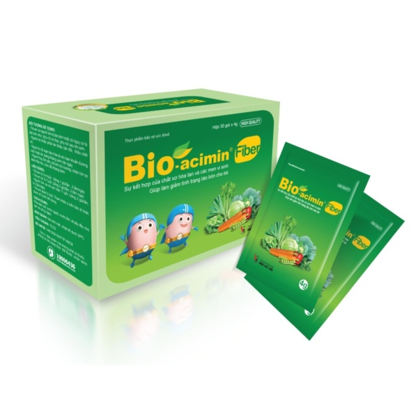 Cốm bổ sung chất xơ Bio Acimin Fiber
