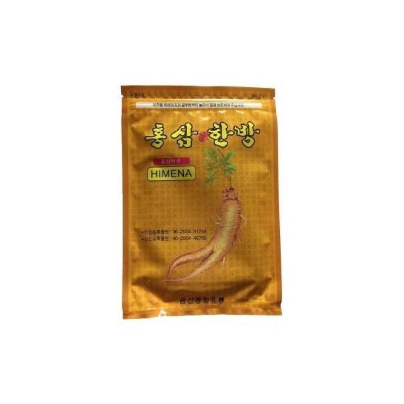02 gói miếng dán hồng sâm Himena Korea giảm đau nhức (20 miếng/gói). tốt nhất