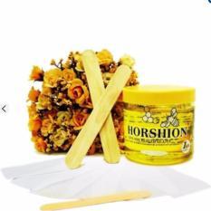 COMBO 1 Gel Wax lạnh tẩy lông Horshion + giấy Wax lông cao cấp (100 tờ) nhập khẩu