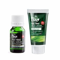Hình ảnh Combo 2 Sản Phẩm : Điều Trị Mụn Serum Đặc Trị Mụn cấp tốc Farmasi tea tree oil 10 ml + Kem Dưỡng Da Cho Da Mụn Farmasi Tea Tree 50 ml