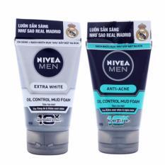 Chiết Khấu Combo 2 Tuýp Sữa Rửa Mặt Nivea For Men 100Ml Có Thương Hiệu