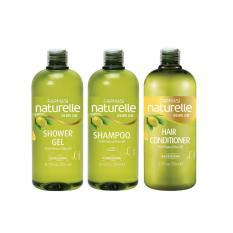 Chiết Khấu Combo 3 Sản Phẩm Dầu Gội Dầu Xả Sữa Tắm Chiết Xuất Olive Farmasi Natural Olive Oil Có Thương Hiệu