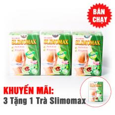 Combo 3 Trà SLIMOMAX học viện quân y - Giảm béo nhập khẩu