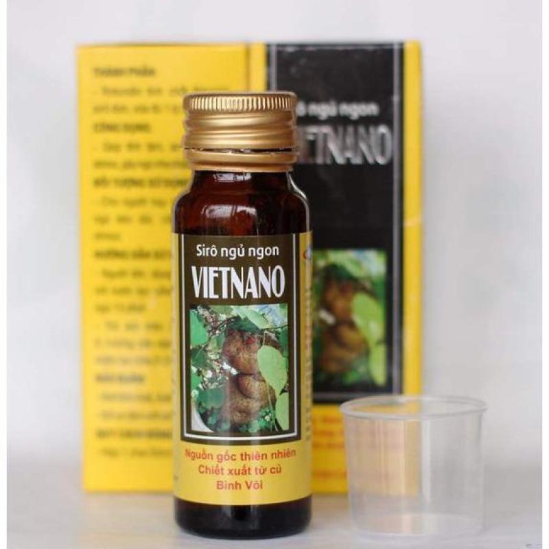 Combo 4 chai Si rô ngủ ngon Vietnano cao cấp