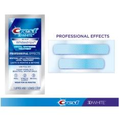 Hình ảnh Combo 4 Miếng Dán Trắng Răng Siêu mạnh Crest 3D White Professional Effects USA