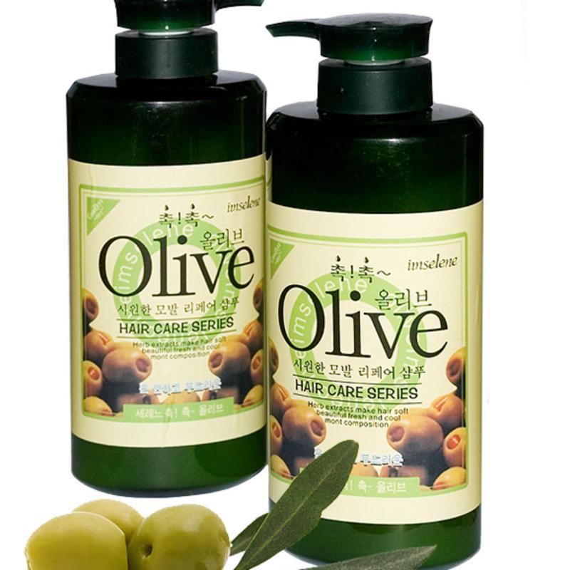 Combo dầu Gội và Dầu xả Olive 800ml nhập khẩu