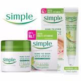 Mua Combo Lăn Dưỡng Mắt Simple Kind To Eyes Revitalising Eye Roll On 15Ml Kem Dưỡng Ẩm Cho Da Ban Đem Simple Kind To Skin Vital Vitamin Night 50Ml Mới Nhất