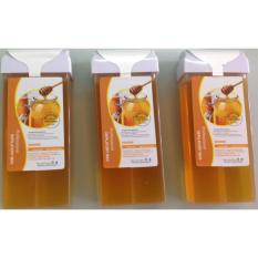 Combo Sáp wax lông Mật Ong ( Đài Loan) 100g + Giấy Wax lông Tổ Ong Cao Cấp 100 tờ