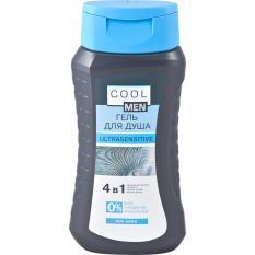 COOL MEN Gel tắm ULTRASENSITIVE 4 in 1