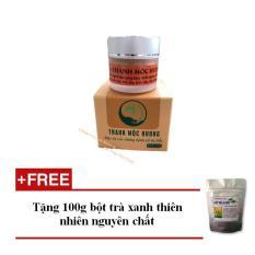 Hình ảnh Đặc Trị bệnh da liễu thảo dược Thanh Mộc Hương - Tặng 100g bột trà xanh dưỡng da - Hàng Chính Hãng