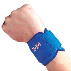 Đai bảo vệ cổ tay dán I-M  dành cho người chơi bóng rổ, cầu lông nhập khẩu