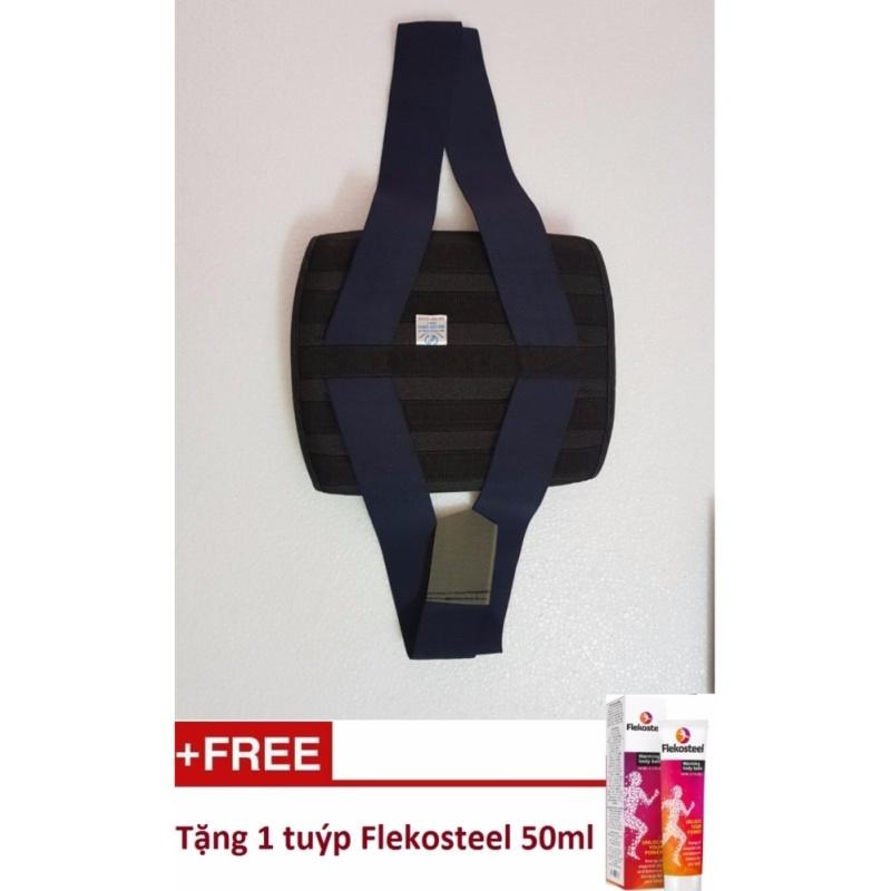 Đai lưng định vị  và hỗ trợ điều trị cột sống size XL Tặng kèm Kem Flekosteel Điều Trị Viêm Xương Khớp và Thoát Vị Đĩa Đệm