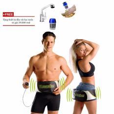 Đai Massage Bụng Cao Cấp Vibroaction Tặng Thiết Bị Đầu Voi Lọc Nước Sạch Vegavn Vibroaction Rẻ Trong Hà Nội