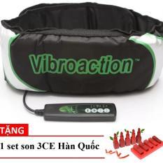 Chiết Khấu Đai Massage Giảm Mỡ Bụng Lạnh Vibro Action Tặng Kem 1 Set Son Han Quốc Hang Nhập Khẩu Hà Nội