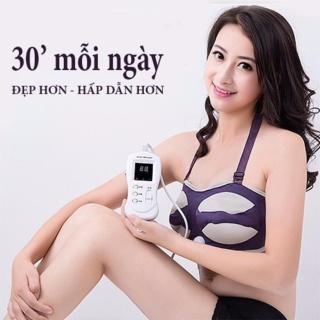 Đai Massage Massage Ngực Nâng Ngực Hiệu Quả Có Tia Hồng Ngoại thumbnail
