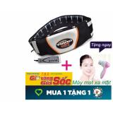 Ôn Tập Tốt Nhất Đai Massage Nong Va Rung Vibro Shape Eo Thon Tặng May Mat Xa Mặt