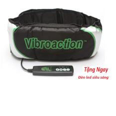 Giá Bán Đai Massage Thon Gọn Bụng Vibroaction Đen Led Sieu Sang Oem Mới