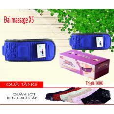 Đai Massage X5 3 Chế Độ Giảm Eo Can Toan Than Tặng Quần Lot Nữ S*xy Rẻ