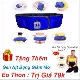 Giá Bán Đai Massage X5 3 Chế Độ Giảm Eo Can Toan Than Xanh Tăng Gen Nịt Bụng Giảm Mỡ Eo Thon Nhãn Hiệu Oem