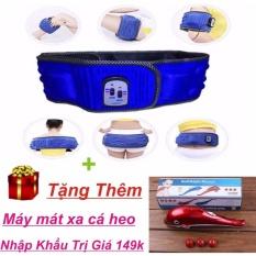Bán Đai Massage X5 3 Chế Độ Giảm Eo Can Toan Than Xanh Tặng May Mat Xa Ca Heo Mini Trong Hồ Chí Minh