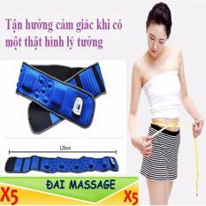 Đai Massage X5 Giảm Mỡ Cho Mẹ Be Sau Khi Sinh Sieu Tốc Cong Nghệ Mới 2017 Chiết Khấu Hà Nội