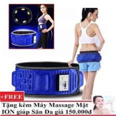 Mua Đai Mat Xa Giảm Beo Bụng X5 Tặng May Massage Mặt Y1200 Hang Nhập Khẩu X5 Rẻ