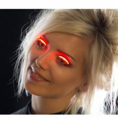 Dán mi mắt giả có đèn LED an toàn, cho cả nam nữ giúp bạn khác biệt cho cuối tuần vui vẻ (ML)_ trắng hoặc xanh dương tốt nhất