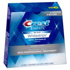 Dán trắng răng Crest 3D White Supreme Flexfit siêu mạnh USA  (14 miếng- 7 ngày)