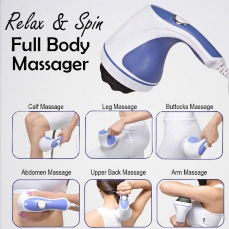 Đánh Tan Mỡ Bụng, Máy Massage Cầm Tay - Dòng Máy Mát Xa Được Ưa Chuộng , Máy Massage Toàn Thân Giá Rẻ, Máy Massage Cầm Tay Relax & Spin Tone Chất Lượng Cao, Siêu Tiện Lợi, Giá Tốt - Bh Uy Tín Bởi Ken99 Mẫu 239