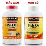 Mua Dầu Ca 1000Mg Kirkland Signature Hộp 400 Vien Mỹ Cung Cấp 300 Mg Omega 3 Cho Trai Tim Khỏe Mạnh Rẻ Trong Vietnam