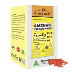Bán Dầu Ca Omega 3 For Kids Vitamin D3 Rẻ