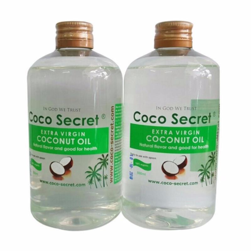 Dầu dừa nguyên chất 500ml Cocosecret cao cấp