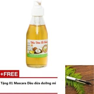 Dầu Dừa Nguyên Chất 200ml + Tặng 1 Mascara Dầu Dừa Dưỡng Mi 5ml thumbnail