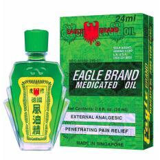 Ôn Tập Dầu Gio Xanh Hiệu Con O Eagle Brand Medicated Oil 24M