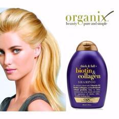 Hình ảnh Dầu gội chống rụng và kích thích mọc tóc Thick & FullOrganix Biotin &Collagen