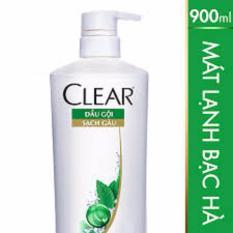 Giá Bán Dầu Gội Clear Sạch Gau Mat Lạnh Bạc Ha Chai 900G Clear