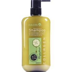 Hình ảnh Dầu Gội HACHI dành cho tóc gãy rụng chiết xuất Bưởi & Biotin (500ml)