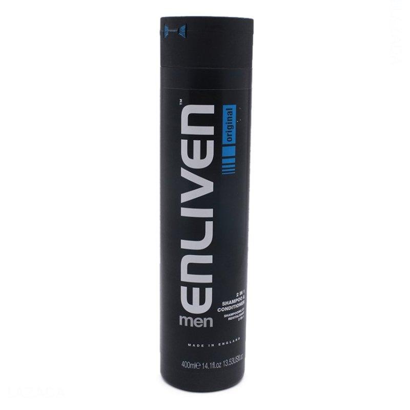 Dầu gội nam Enliven Mens 2in1 Shampoo & Cond 400ml