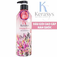 Giá Bán Dầu Gội Nước Hoa Cho Toc Mềm Mượt Giảm Thiểu G*y Rụng Kerasys Salon Perfume Blooming Flowery Han Quốc 600Ml Hang Chinh Hang Hà Nội