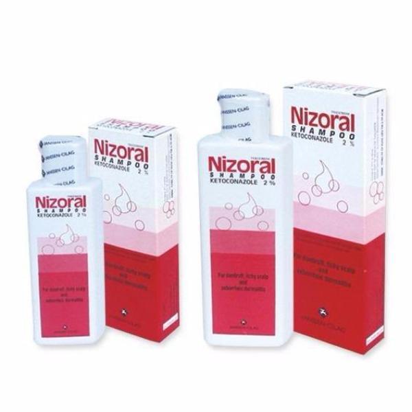 Dầu gội trị gàu, nấm Nizoral 100ml nhập khẩu