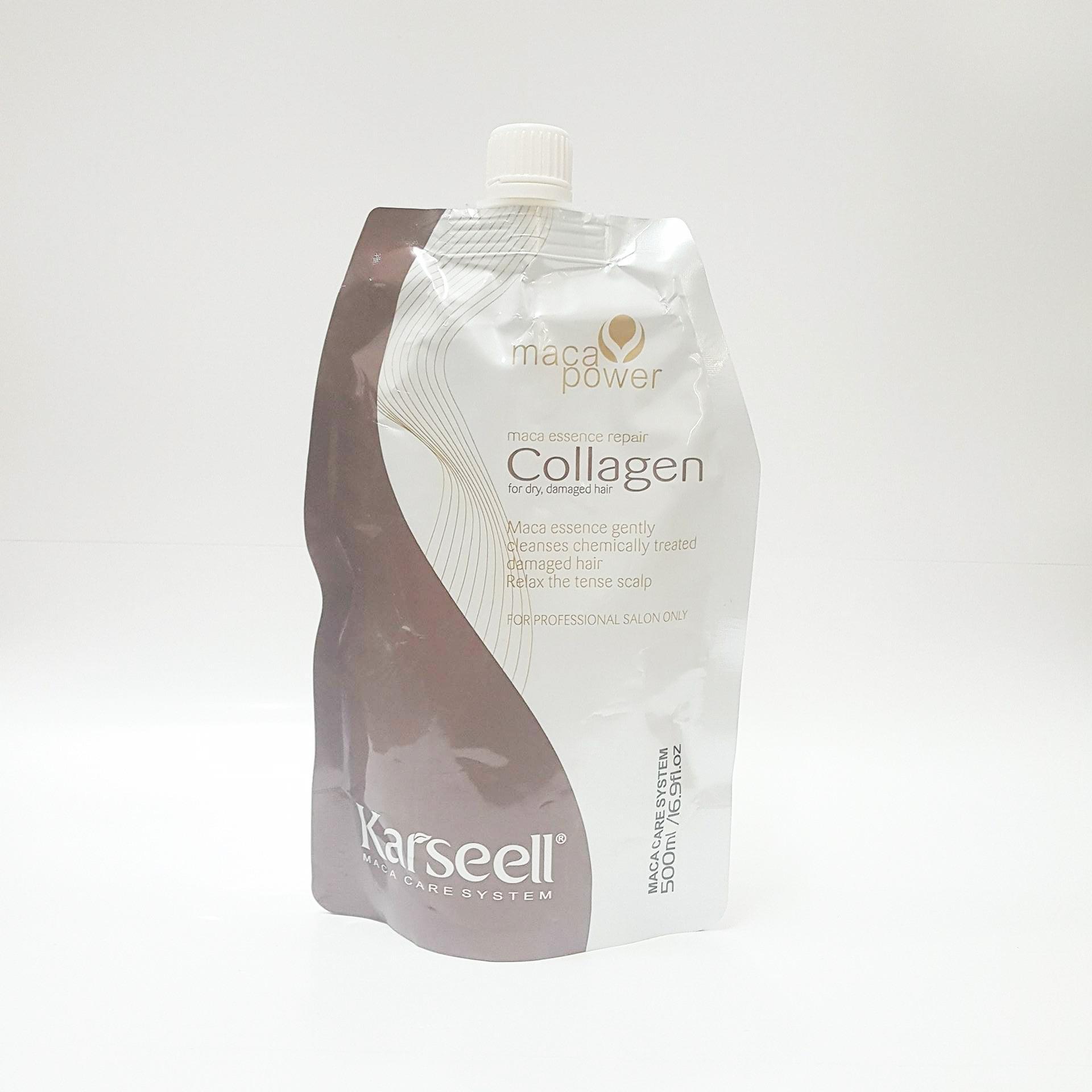 Dầu Hấp Ủ Tóc Collagen Siêu Mềm Mượt 500Ml