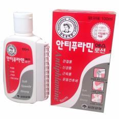 Dầu nóng Hàn Quốc Antiphlamine có dụng cụ massage 100ml
