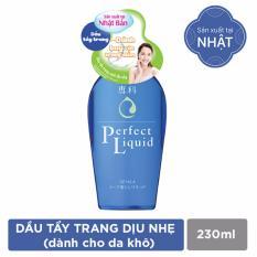 Dầu Tẩy Trang Cho Da Nhạy Cảm Senka Perfect Liquid 230Ml Senka Chiết Khấu 40