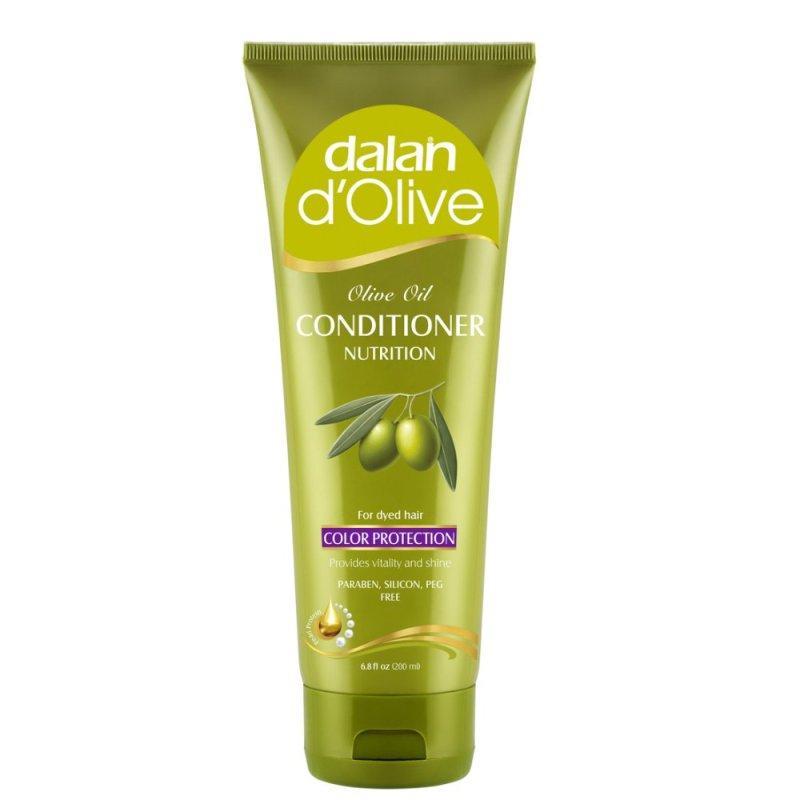 Dầu xả Oliu cho tóc nhuộm Dalan DOlive Conditioner Nutrition Color Protection 200ml (Hàng Chính Hãng)