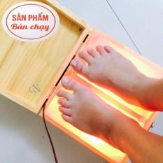 Đèn đá muối massage chân dạng phẳng