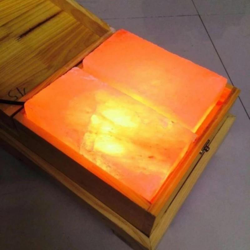 Đèn đá muối massage chân phẳng - KAMA cao cấp
